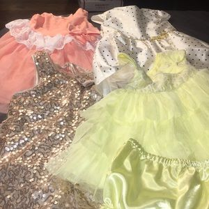 LOT OF GIRLS DRESSES